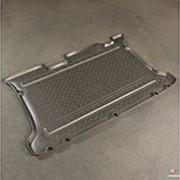 Коврик в багажник Hyundai Matrix 2000-2010 (полиуретановый с бортиком) фото