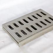 Ливневая решетка 500x300 с корпусом фото