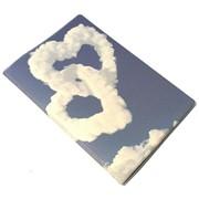 Обложка для автодокументов №15 облочные сердца фото
