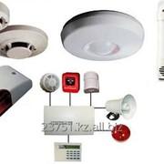 Установка систем пожарной сигнализации фото