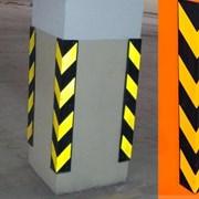 Демпфер угловой резиновый парковочный, защита фото