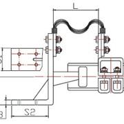 Соединительный переходной зажим типа CЗТ4-Ш фото