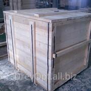 Деревянная тара для оборудования фото