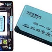 Картридер внешний Memory Card Reader 480 Мбит/с USB 2.0 фото