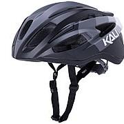 Шлем ШОССЕ /ROAD THERAPY 21 отв. Blk/Gry S/M 54-58 матовый черно-серый 285г. LDL, CF, KALI фото