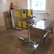 Пастеризатор молока для выпойки телят, производства сыра, пакетирования 300 л/ч УЗМ-0,3 фото