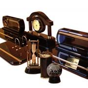 Письменные наборы VIP-класса из обсидиана фото