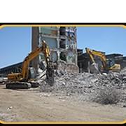 Демонтаж металлоконструкций на лом фото