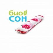 """Подушка для беременных """"I"""" 170х30, хлопок, цвет-сакура фото"""