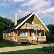 Деревянный дом из сруба 122 м2. фото