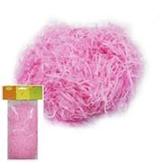 Декоративный бумажный наполнитель розовый 30г фото