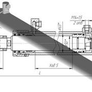Гидроцилиндр ГЦ-63.50х1680.01 77 БРМЗ. КС-45717, усиленный, выдвижной опор фото