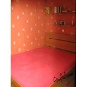 Кровать двухспальная низкая фото