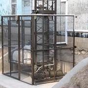 Грузовые подъемники (грузовые лифты) различной степени сложности, назначения, конфигурации и дизайна фото