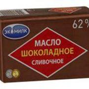 Масло шоколадное 60% Экомилк 180 гр фото
