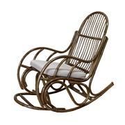 Кресло-качалка мебель из ротанга фото