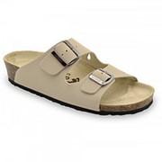 Grubin Ортопедическая обувь Grubin Kairo (23405) мужская, Цвет Бежевый, Размер 44 фото