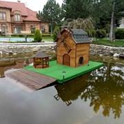 домик плавающий для уток. фото