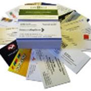 Срочная печать визиток и бейджей фото