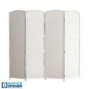 Аренда ширмы белой, 200х200 см, 4 секции по 50 см фото
