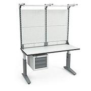 Стол монтажный СР-150-02 ESD + Экран ВС-150-Э4 ESD фото
