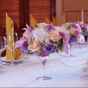 Украшение цветами праздника и свадьбы фото