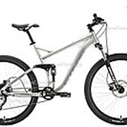 Велосипед Stark Tactic FS 27.5 HD (2020) Серебристый 20 ростовка фото