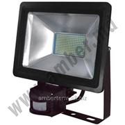 Прожектор светодиодный 4 с датчикам 100W SMD IP65 6500K Horoz (0680040100) фото