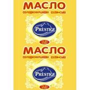 Масло и спрэды ТМ Prestige (ТМ Престиж). Масло сливочное крестьянское 72,5%,чаб фото