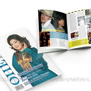 Верстка журнала фото