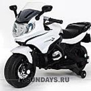 Детский электромотоцикл MOTO M444MM белый фото