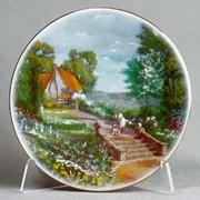 Тарелка настенная 19 см фото