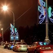 Новая иллюминация в Минске фото