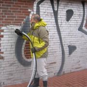 Удаление граффити фото