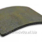 Пластина титановая для бронежилета фото