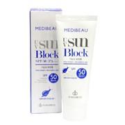 Солнцезащитный крем с экстрактом слизи улитки Medibeau UV Sun Block Cream SPF50 PA+++ фото