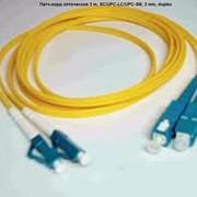 Патч-корд оптический 3 m, SC/UPC-LC/UPC-SM, 3 mm, duplex фото