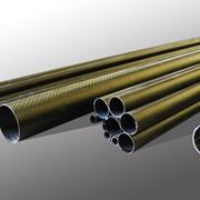 Трубы и профили из карбона, кевлара и стекловолокон фото