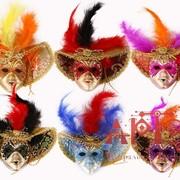 Сувенир маска Венецианского карнавала фото