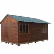 Деревянный каркасно-щитовой дом фото
