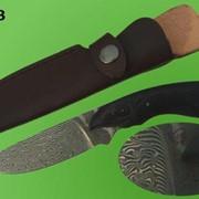 Ножи авторские. Модель 123. Нож дамаской стали японского мастера фото