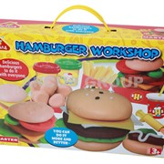 Пластилин-тесто Happy dough Бургер хаус фото