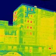 Тепловизионное обследование здания с отчетом фото