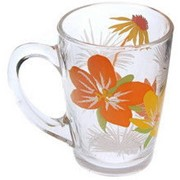 Кружка Luminarc POP FLOWERS Orange /320мл. Артикул G4400 фото
