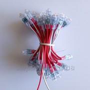Светодиоды быстрого монтажа красные (пиксели) 12В, 9ММ фото