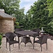Комплект плетеной мебели T190BD/Y290B-W52 Brown 4Pcs фото