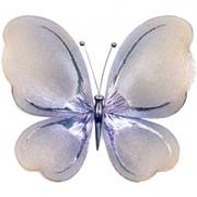 Украшение для штор Бабочка Мини -100*100 Гальваника модель AG0006 фото