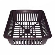 Корзина для луковичных квадратная (черная) фото