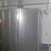 Резервуар тип Я1-ОСВ полезный объем 2.4 м.куб. Полированная нерж. фото