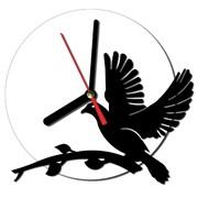 """Годинник настінний для інтер'єру """"Dove"""" фото"""